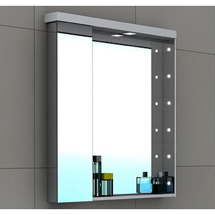 Шкаф-зеркало aquaton ричмонд 80 белый: низкая цена за шт, ку.